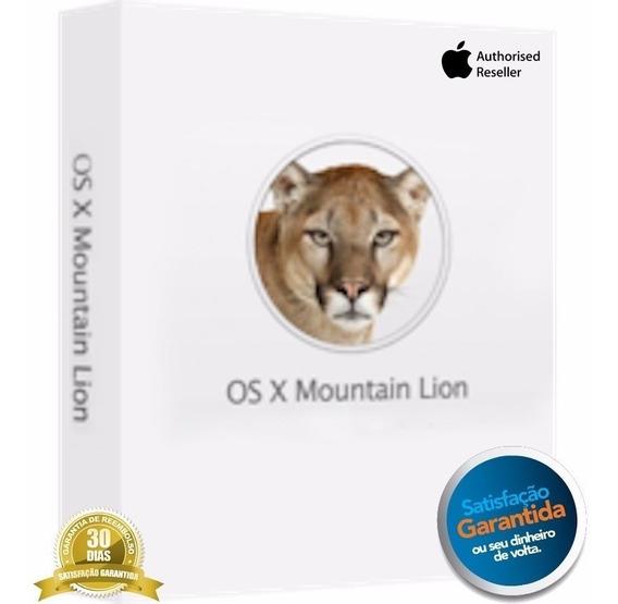 Mac Os X Mountain Lion 10.8 Original - Frete Gratis