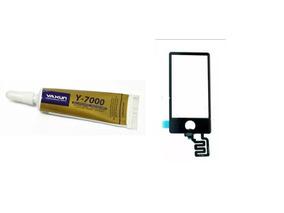 Tela Touch Vidro iPod Nano 7 Preto Envio Imediato + Cola