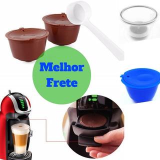 2 Cápsulas Kit Dolce Gusto Reutilizável Café