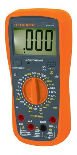 Multitester Digital Profesional Truper (automotriz) Mut-105