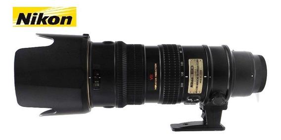 Lente Nikon Af-s 70-200mm F/2,8g Ed Vr - Para Uso Em Câmeras Fullframe E Aps-c