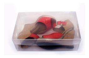 Caixa Organizadora Transparente De Sapatos R2742