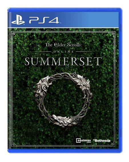 The Elder Scrolls Online Summerset Ps4 Mídia Física