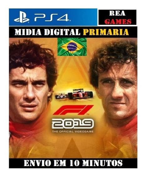 F1 2019 Legends Edition Senna & Prost Ps4 Digital 1 Original