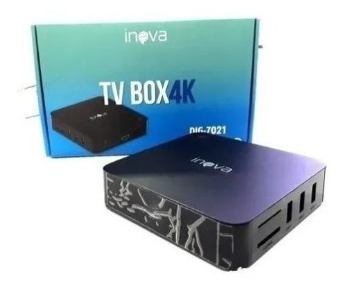 Conversor Smart Tv Box 4gb Ram 32gb Android 10 Frete Grátis