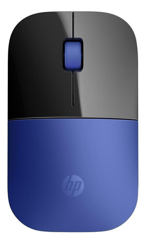 Imagen 1 de 2 de Mouse inalámbrico HP  Z3700 azul
