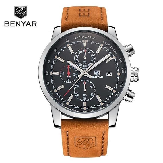 Relógio Masculino Benyar Original Importado Frete Gratis