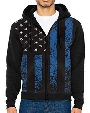 Sueter Sweater Con Capucha Caballeros Talla S