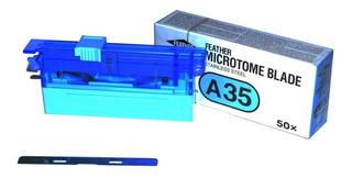Navalha Para Microtomia Perfil Alto Cx 50 Unid Laboratorio