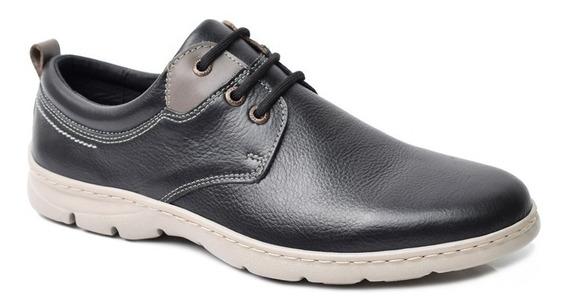 Zapatos Hombre Cuero Base Ultraliviana Base Cosida