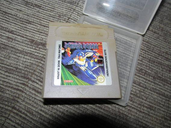 Megaman Dr Willis Revenge Original Europa Gameboy