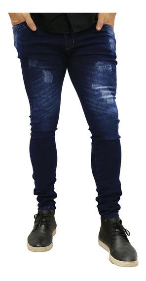 Calça Jeans Masculina Skinny *90