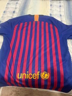 Camisa Oficinal Barcelona Tamanho M