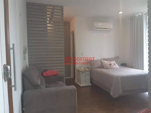 Studio Com 1 Dormitório À Venda, 38 M² Por R$ 292.000 - Vila Augusta - Guarulhos/sp - St0055
