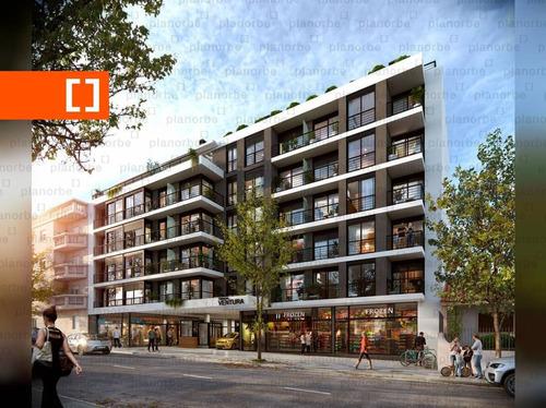 Venta De Apartamento Obra Construcción 1 Dormitorio En La Blanqueada, Terrazas De Ventura Unidad 202a
