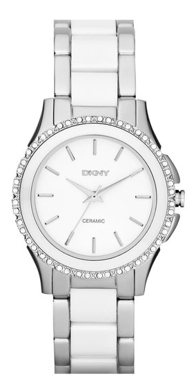 Relógio Dkny 8818 Westside Two Tone Glitz Ceramic