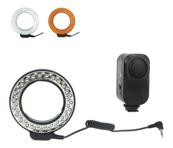 Gd Andoer 48 Leds Macro Anel Luz Flash W/ 2