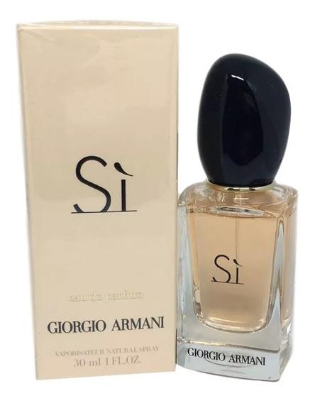 Perfume Sí Giorgio Armani Parfum 30 Ml - Original + Amostra.