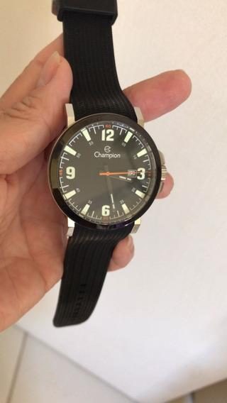 Relógio Champion Original Esportivo Preto