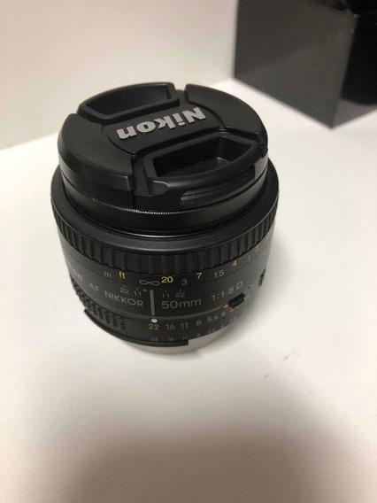 Nikon 50mm F 1.8d