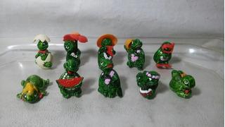Huevo Kinder Coleccion De 10 Tortugas.