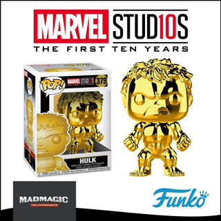 Funko Pop Hulk Chrome - Marvel