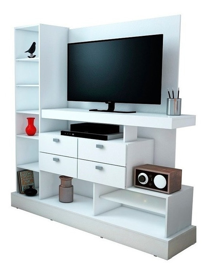 Modular Rack Tv 126 Mosconi Mueble Para Tv / Led 55