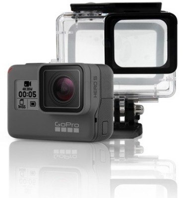 Super Suit Case Caixa Estanque Gopro Hero 5 6 Black