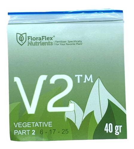 Imagen 1 de 4 de Nutrientes Fertilizantes Minerales Veg V2 Flora Flex 40g