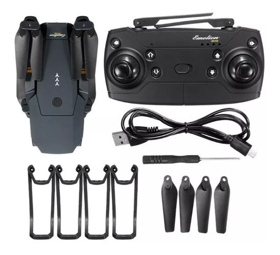 Drone E58 Camera Hd 2.0 720p Fpv Wifi Dobravel C/ 2 Baterias