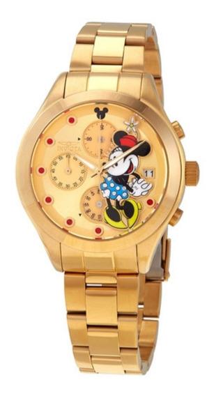 Relógio Feminino Invicta 27402 Limited Edition Minie Dourado