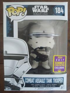 Funko Pop Star Wars 184 Exclusiv Combat Assault Tank Trooper