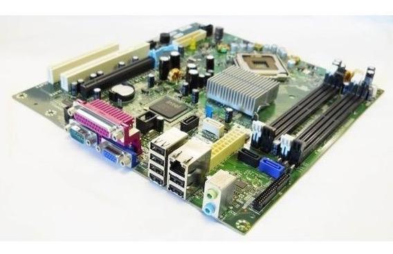 Placa Mãe Dell 0wx729 + Core 2 Duo E4600 2.40ghz + 2gb Ddr2