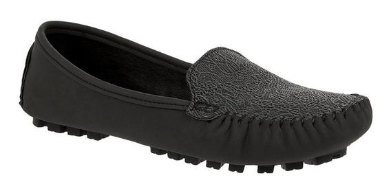 Zapato Tipo Mocasín Para Dama Gris 007408
