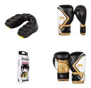 Guantes Venum Contender 2.0 + Protector Bucal Challenger