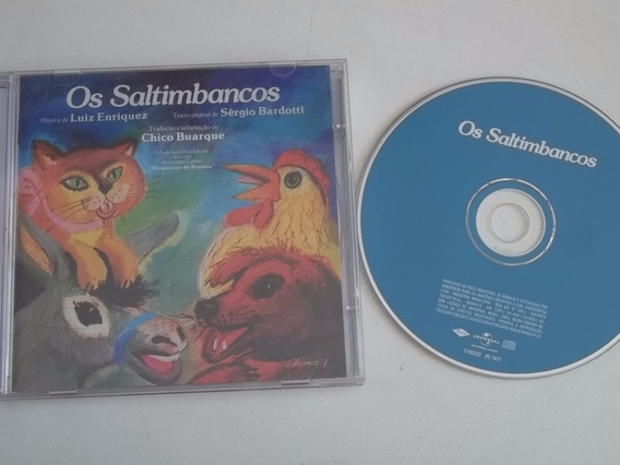 Cd . Os Saltimbancos - Chico Buarque