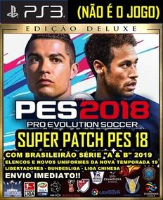 Patch Pes 2018 Ps3 (atualização) Elencos Temporada 2019 2020