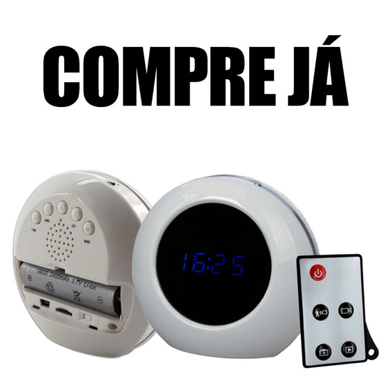 Mini Gravador Espião Objetos De Espiao Infantil Cameras 16gb