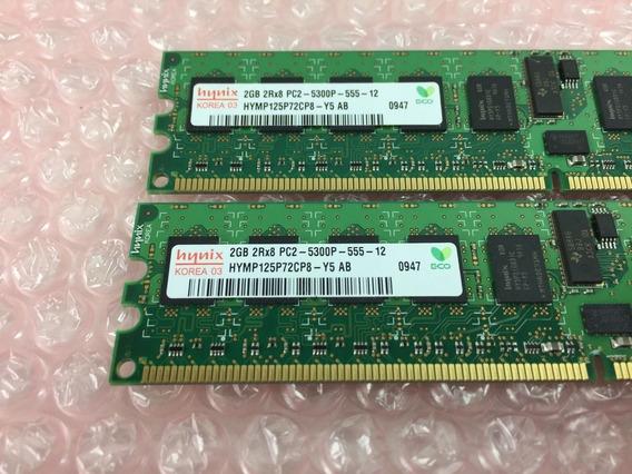 Memória 4gb (2 X 2gb) Dell Poweredge T300, R300, 2970, 6950
