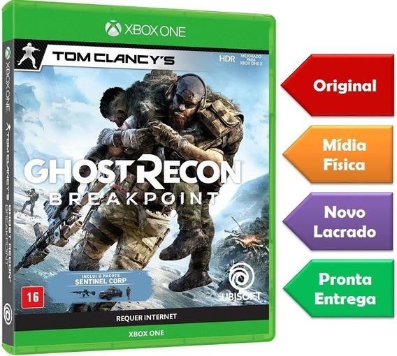 Ghost Recon Breakpoint Xbox One Mídia Física Novo Lacrado