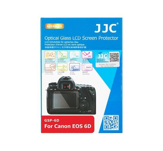 Protetor De Vidro Lcd Câmera Jjc Gsp6d Canon 6d