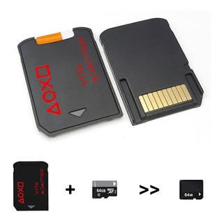 Adaptador Memoria Micro Sd Ps Vita Sd2vita 3.68 Juegos /i