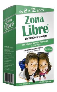 Zona Libre De Liendres Y Piojos Crema De Enjuague 200ml