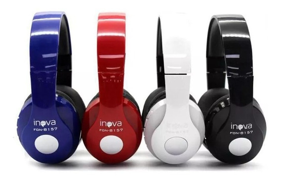 Fone De Ouvido Bluetooth Inova-fon8157 Barato