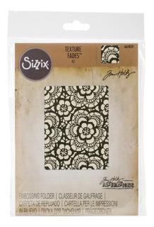 Folder De Grabado Sizzix, Embossing, Textura, Scrapbook