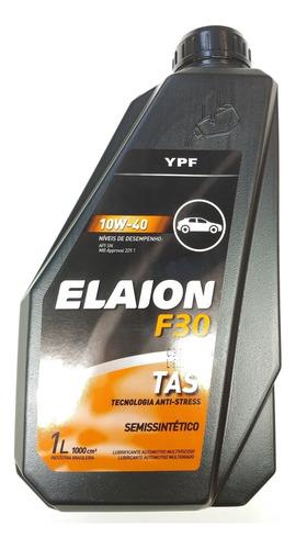 Oleo Elaion F30 10w 40 Semissintetico   903896