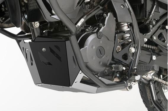 Cubrecarter Aluminio Kawasaki Klr 650 2008 Al 2019 Mastech