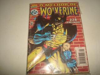 Hq O Melhor De Wolverine Nº1 - 1997 - Marvel Comics