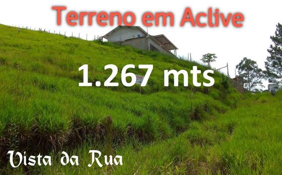 Terreno Em Arujá 1.267 Mts Bairro Copaco