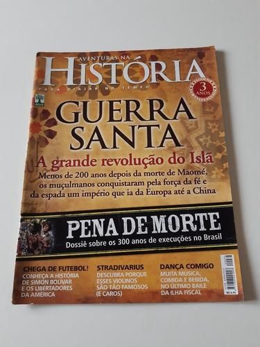 Revista Aventuras Na História Guerra Santa H598